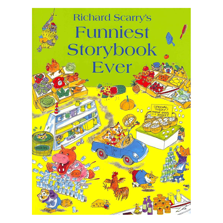Richard Scarrys Funniest Storybook Ever - 1243065 , 7404528127561 , 62_5290487 , 172000 , Richard-Scarrys-Funniest-Storybook-Ever-62_5290487 , tiki.vn , Richard Scarrys Funniest Storybook Ever