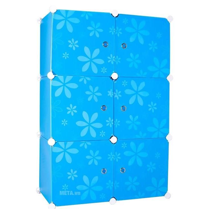 Tủ nhựa lắp ghép 6 ngăn đa năng - 18606754 , 6355537857578 , 62_21974960 , 600000 , Tu-nhua-lap-ghep-6-ngan-da-nang-62_21974960 , tiki.vn , Tủ nhựa lắp ghép 6 ngăn đa năng