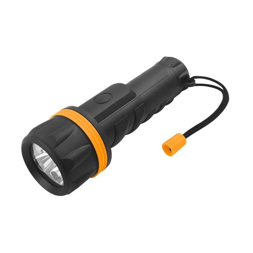 Đèn Pin Cán Bọc Nhựa 7 Led Tolsen 60021 (Φ70 x 208 mm)