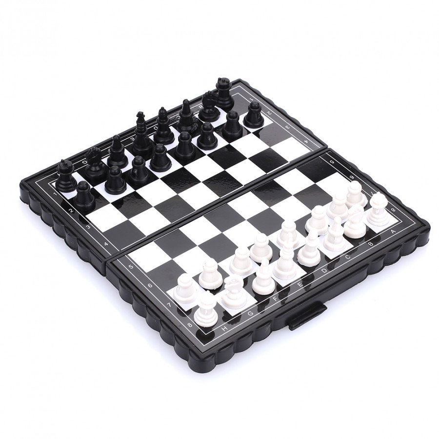 Magnetic Chess Set Chess Classical Magnetic Plastic Gift Kill Time