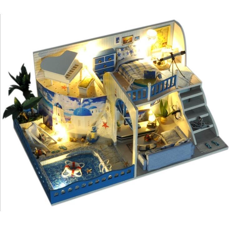 Mô hình nhà búp bê DIY biệt thự biển Địa Trung Hải 2 tầng có bể bơi - 2103759180516,62_2427203,680000,tiki.vn,Mo-hinh-nha-bup-be-DIY-biet-thu-bien-Dia-Trung-Hai-2-tang-co-be-boi-62_2427203,Mô hình nhà búp bê DIY biệt thự biển Địa Trung Hải 2 tầng có bể bơi