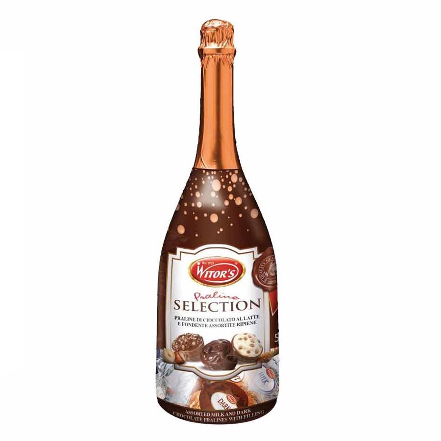 Kẹo Socola Ý Chai Rượu Witors (500g/Chai)