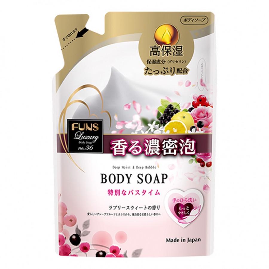 Sữa tắm hương nước hoa Funs Luxury No 36 Nhật Bản DẠNG TÚI (380ML)