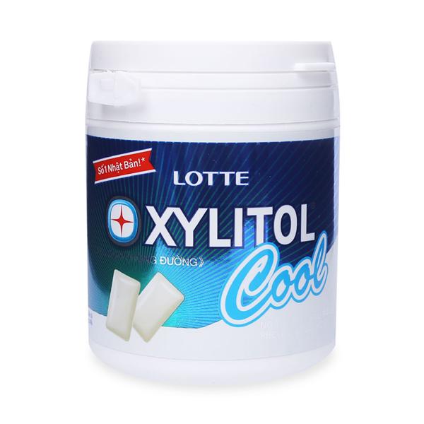 Kẹo Gum Không Đường Lotte Xylitol Cool (145g)