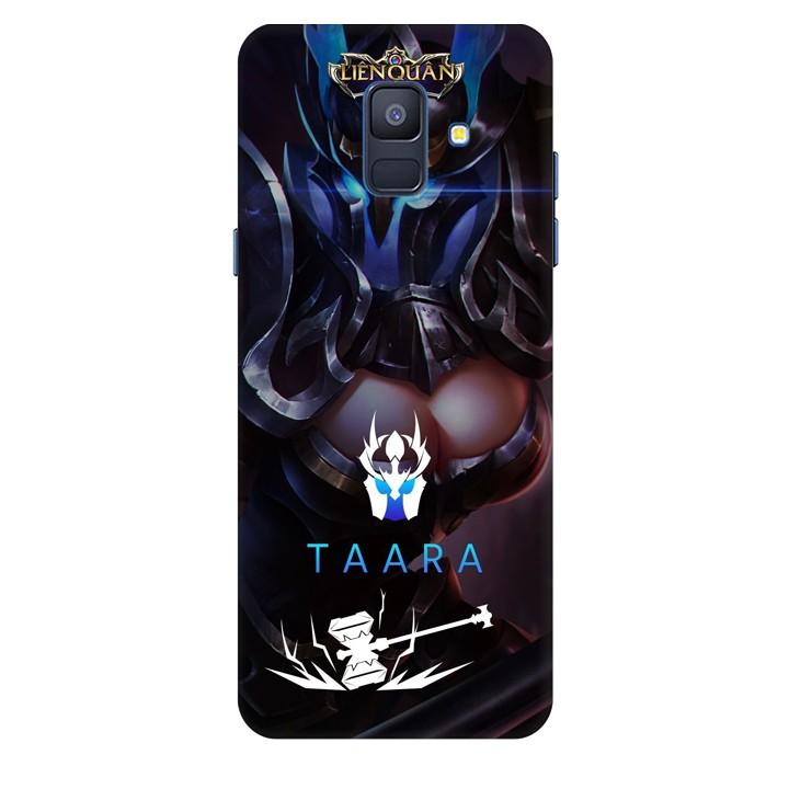 Ốp lưng nhựa cứng nhám dành cho Samsung Galaxy A6 2018 in hình Taara