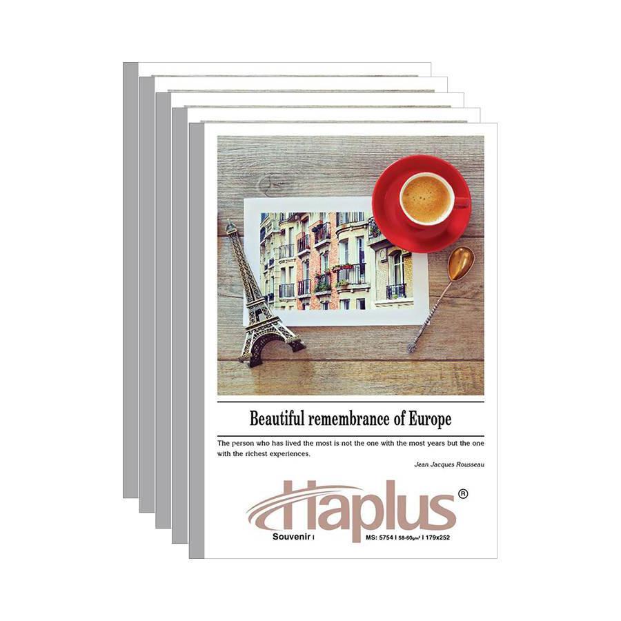 Vở kẻ ngang Haplus- souvenir 80 trang (10 quyển /lốc)