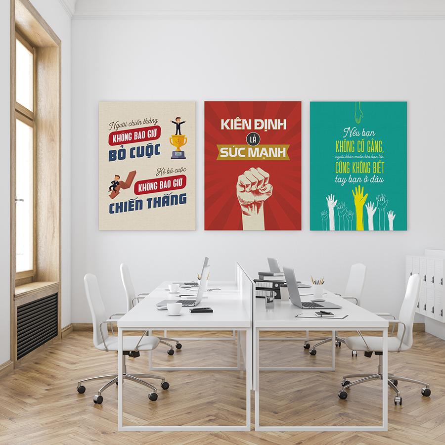 Bộ 3 tranh canvas trang trí văn phòng HOT nhất hiện nay CB51-60 - 1182893 , 4786156177419 , 62_7589153 , 870000 , Bo-3-tranh-canvas-trang-tri-van-phong-HOT-nhat-hien-nay-CB51-60-62_7589153 , tiki.vn , Bộ 3 tranh canvas trang trí văn phòng HOT nhất hiện nay CB51-60