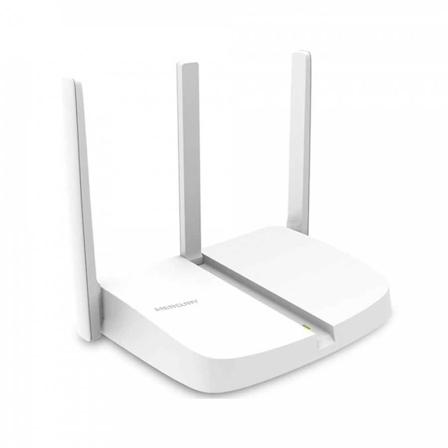 Bộ Phát Sóng Wifi Mercusys 3 Râu MW305N Chuẩn 300Mbps - Router Wifi ( 3 Cổng Lan ) - Hàng chính hãng