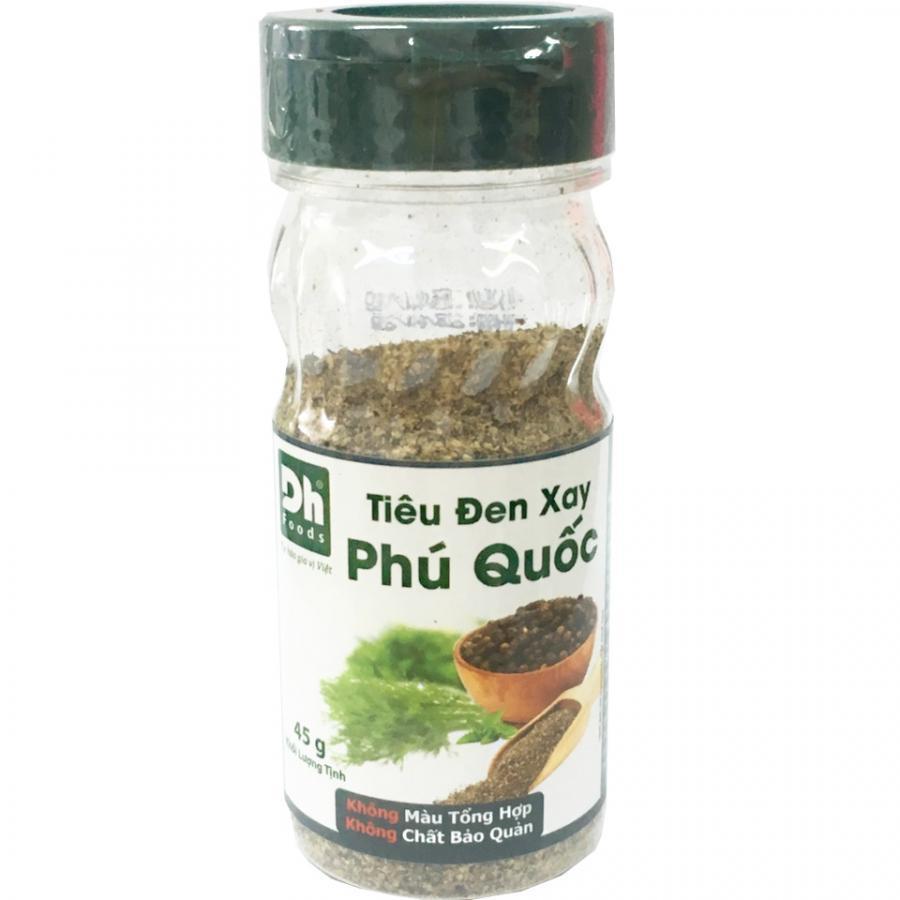 Tiêu đen xay Phú Quốc 45gr Dh Foods