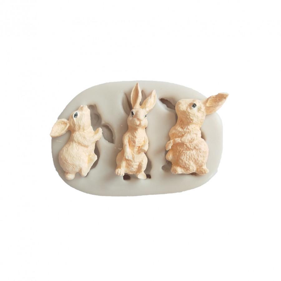 Khuôn Làm Bánh Hình Chú Thỏ Cho Lễ Phục Sinh