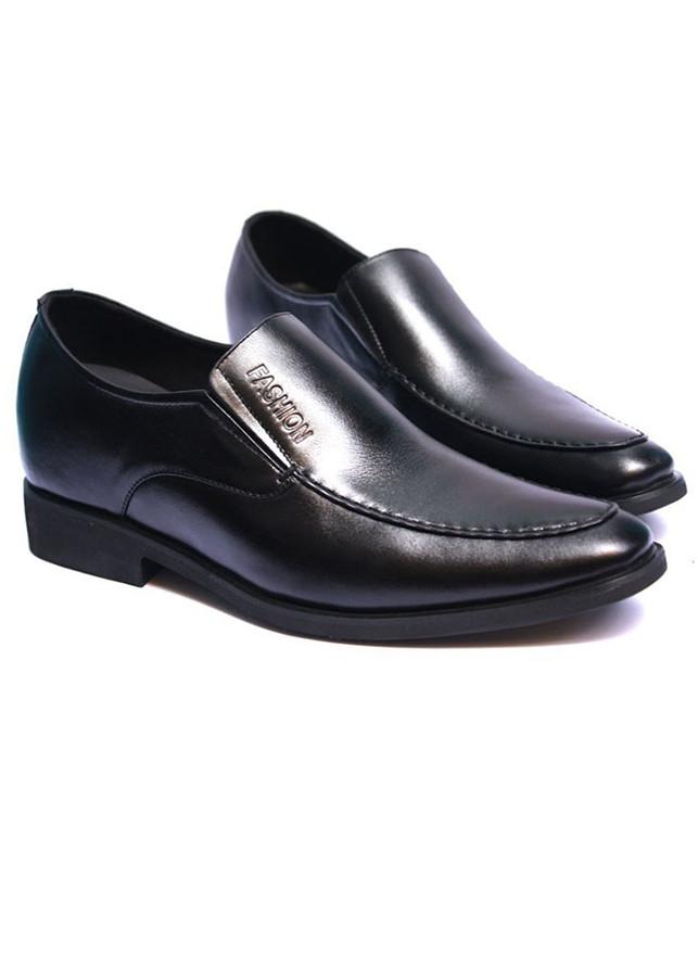 Giày tây da bò thật MENLI GLTK45 tăng chiều cao 6.5 cm