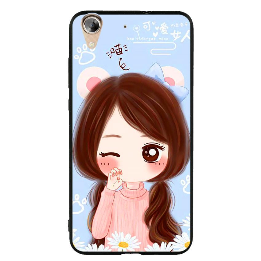 Ốp lưng viền TPU cao cấp cho điện thoại Huawei Y6 II -Baby Girl