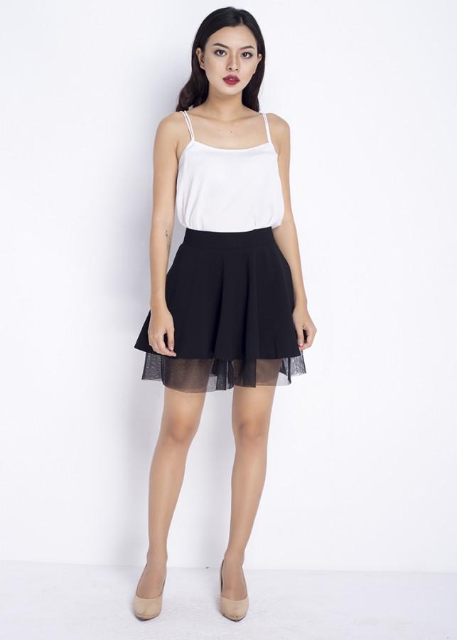 Váy xòe phối lưới NN100601