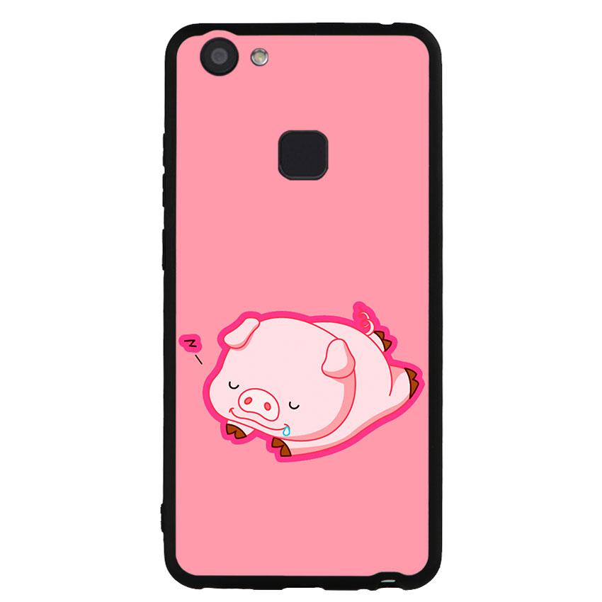Ốp lưng dành cho điện thoại Vivo V7 - V7 PLUS - Y83 - Pig 2019 Mẫu 3