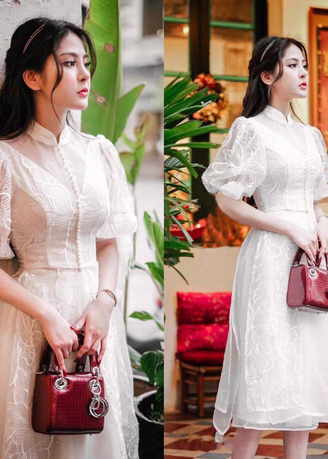 Váy đầm công chúa dự tiệc ren lót lụa phối kín điệu đà V906 - 5069705 , 5084045261348 , 62_15871736 , 660000 , Vay-dam-cong-chua-du-tiec-ren-lot-lua-phoi-kin-dieu-da-V906-62_15871736 , tiki.vn , Váy đầm công chúa dự tiệc ren lót lụa phối kín điệu đà V906
