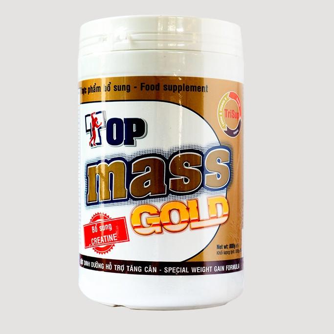 Sữa bột Top Mass Gold 800g tăng cân - 2087228 , 6455463540008 , 62_12603203 , 320000 , Sua-bot-Top-Mass-Gold-800g-tang-can-62_12603203 , tiki.vn , Sữa bột Top Mass Gold 800g tăng cân