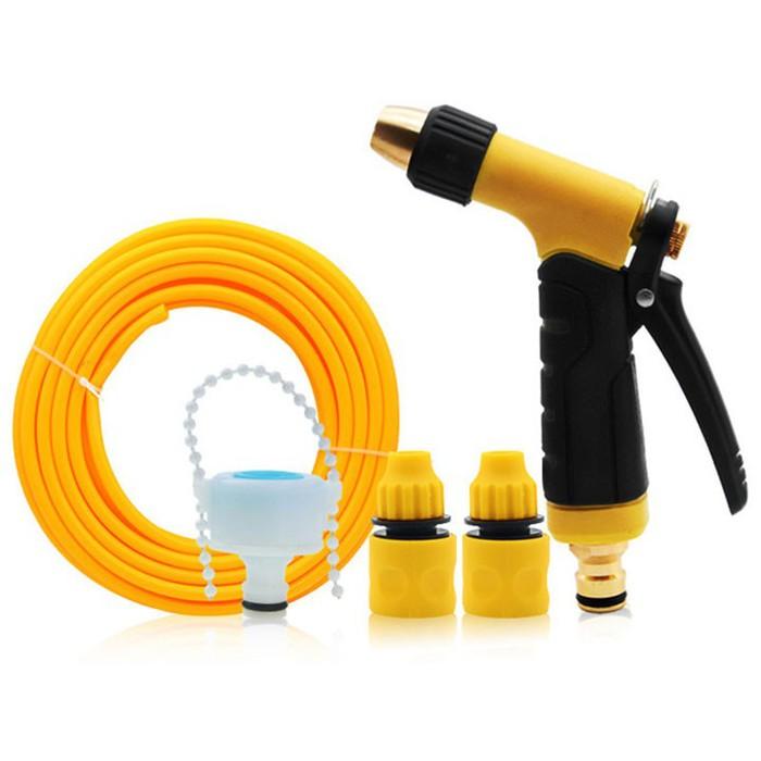 Bộ vòi nước tăng áp xịt rửa ô tô, xe máy, tưới cây - 2104806 , 5856121639453 , 62_13293686 , 549000 , Bo-voi-nuoc-tang-ap-xit-rua-o-to-xe-may-tuoi-cay-62_13293686 , tiki.vn , Bộ vòi nước tăng áp xịt rửa ô tô, xe máy, tưới cây