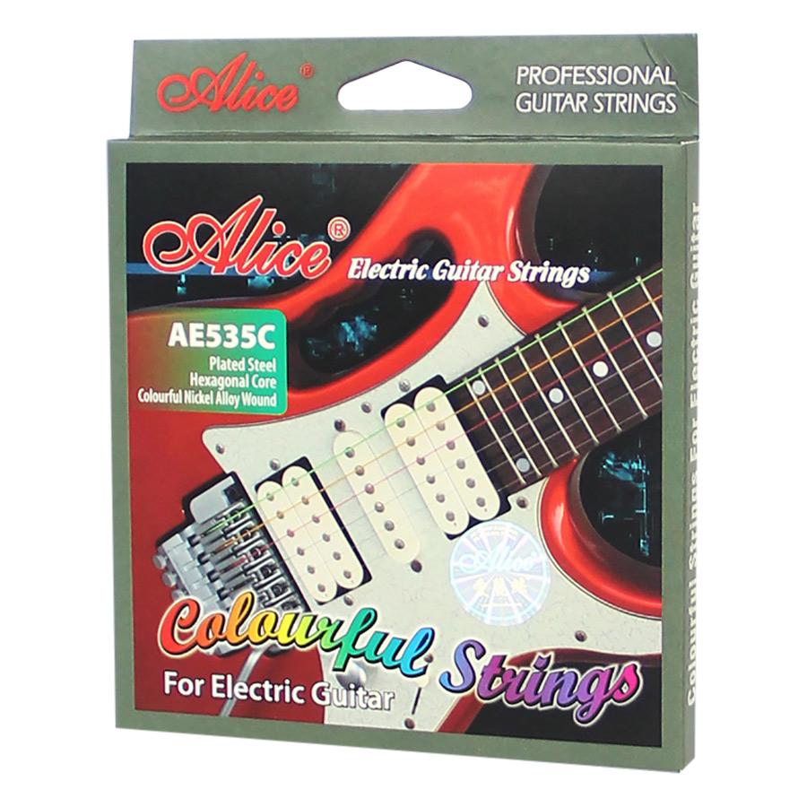 Dây Đàn Guitar Điện Màu Alice AE535C - Nhiều Màu - 881080 , 5125131108786 , 62_1421469 , 115000 , Day-Dan-Guitar-Dien-Mau-Alice-AE535C-Nhieu-Mau-62_1421469 , tiki.vn , Dây Đàn Guitar Điện Màu Alice AE535C - Nhiều Màu