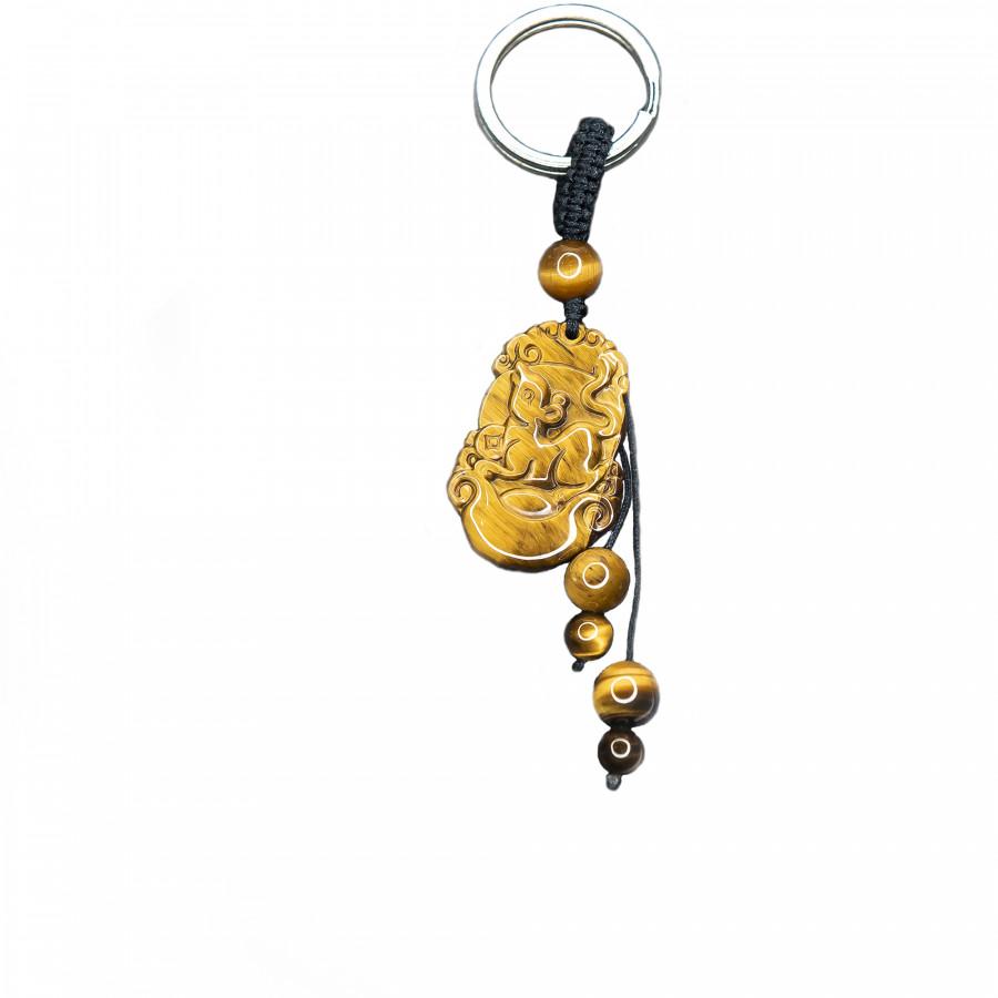 Móc khóa 12 Con Giáp đá Mắt Hổ Vàng tự nhiên - Tuổi Tý | MKTIGYTY01 VietGemstones - 6218789 , 8600509340403 , 62_9875141 , 350000 , Moc-khoa-12-Con-Giap-da-Mat-Ho-Vang-tu-nhien-Tuoi-Ty-MKTIGYTY01-VietGemstones-62_9875141 , tiki.vn , Móc khóa 12 Con Giáp đá Mắt Hổ Vàng tự nhiên - Tuổi Tý | MKTIGYTY01 VietGemstones