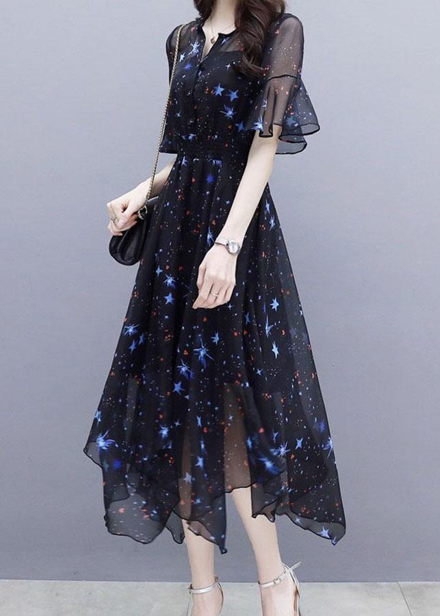Đầm xòe voan họa tiết ngôi sao - 7800323 , 3088789102204 , 62_16608527 , 250000 , Dam-xoe-voan-hoa-tiet-ngoi-sao-62_16608527 , tiki.vn , Đầm xòe voan họa tiết ngôi sao