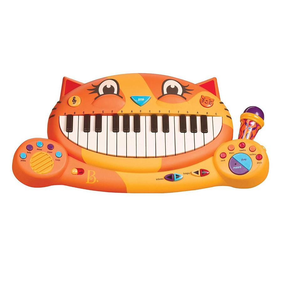 Đồ Chơi Đàn Piano Mèo Con B. Brand BX1025Z