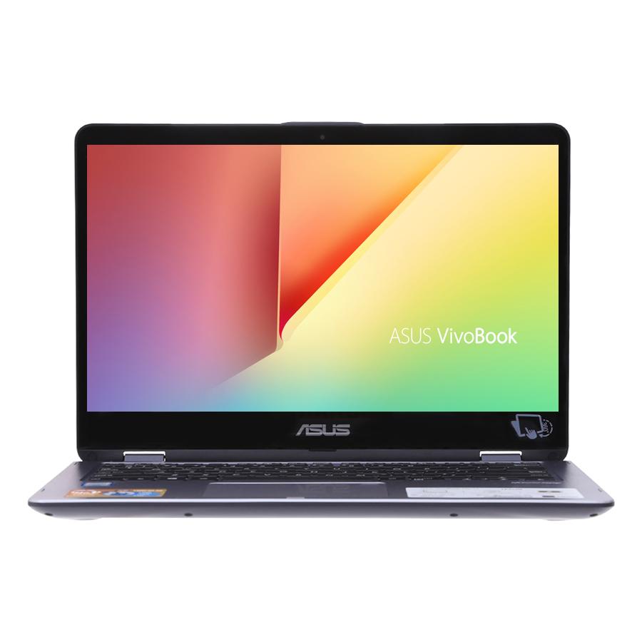 """Laptop Asus VivoBook TP410UA-EC228T Core i3-7100U/Win10 (14"""" FHD) - Hàng Chính Hãng"""