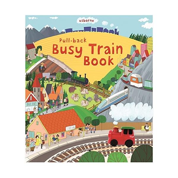 Pull Back Busy Train Book - 1695876 , 3825639264152 , 62_11777933 , 513000 , Pull-Back-Busy-Train-Book-62_11777933 , tiki.vn , Pull Back Busy Train Book