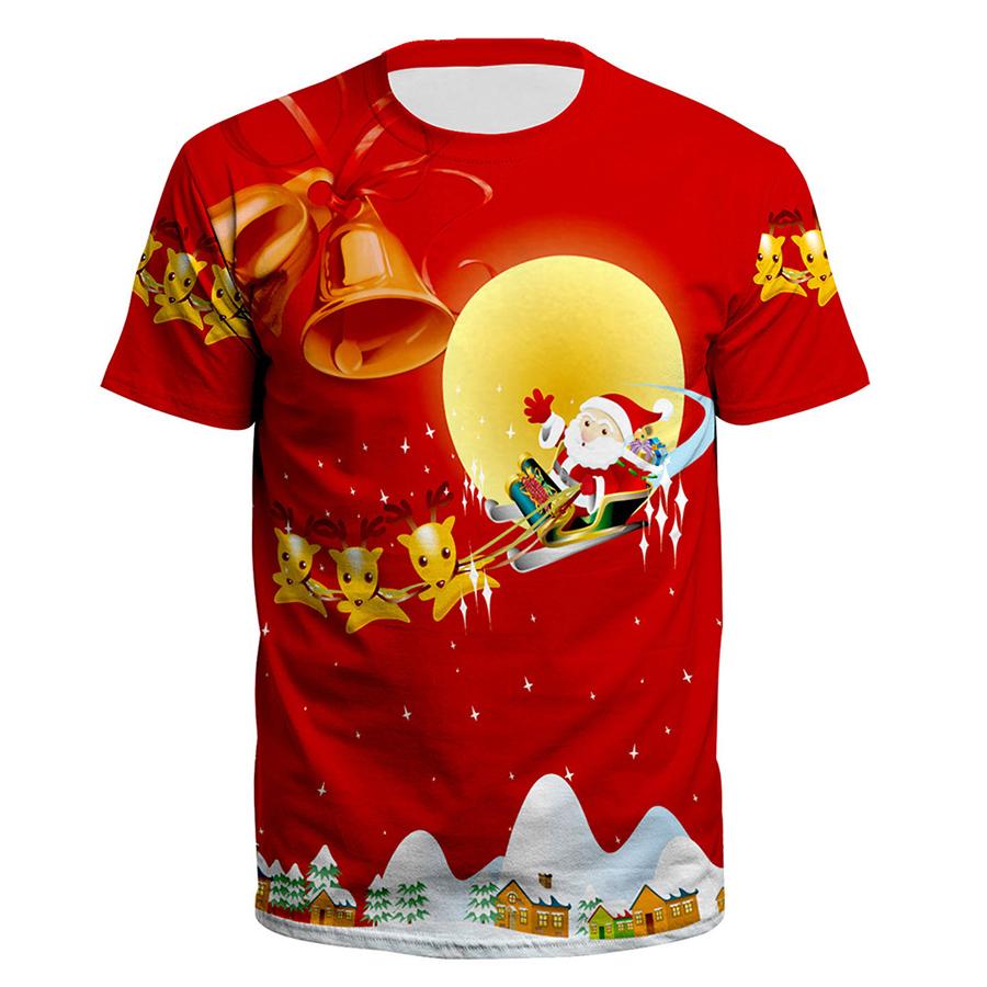 Áo Thun Tay Ngắn Unisex Họa Tiết Giáng Sinh OEM - 3185937794332,62_8077753,484000,tiki.vn,Ao-Thun-Tay-Ngan-Unisex-Hoa-Tiet-Giang-Sinh-OEM-62_8077753,Áo Thun Tay Ngắn Unisex Họa Tiết Giáng Sinh OEM