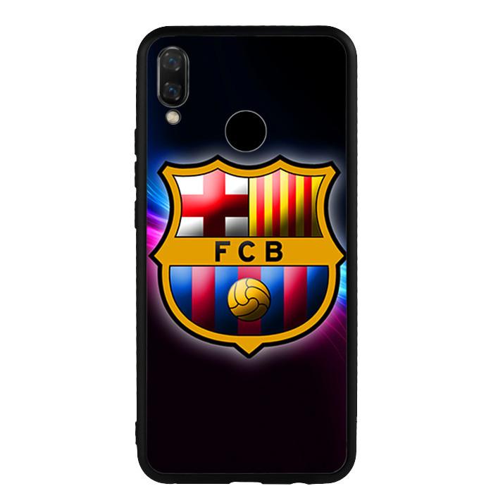 Ốp lưng nhựa cứng viền dẻo TPU cho Huawei Nova 3i - Clb Barcelona