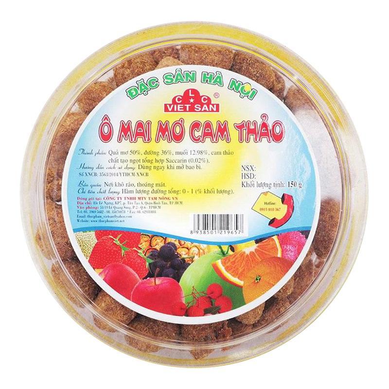 Ô Mai Mơ Cam Thảo Việt San 150G