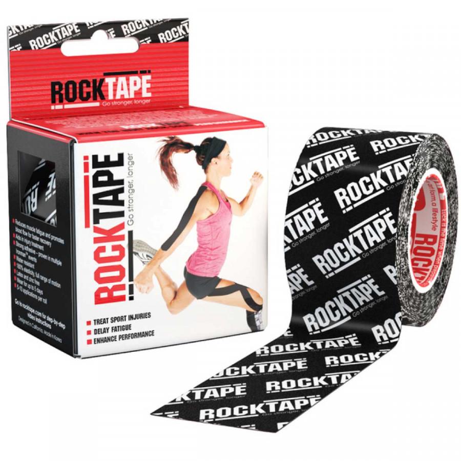 Băng dán cơ thể thao Rocktape Korea - Black logo