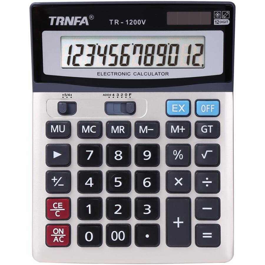 Máy Tính Điện Tử TRNFA (837B 12-Bit) - 1050809 , 1488445311070 , 62_3397011 , 87000 , May-Tinh-Dien-Tu-TRNFA-837B-12-Bit-62_3397011 , tiki.vn , Máy Tính Điện Tử TRNFA (837B 12-Bit)