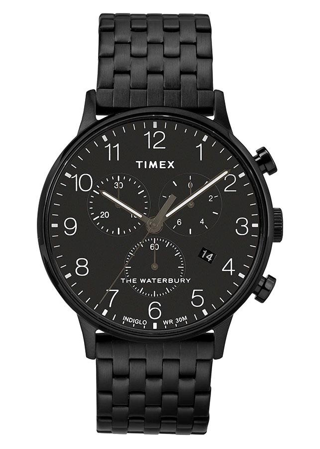 Đồng Hồ Nam Dây Kim Loại Timex Waterbury Classic Chronograph 40mm - TW2R72200