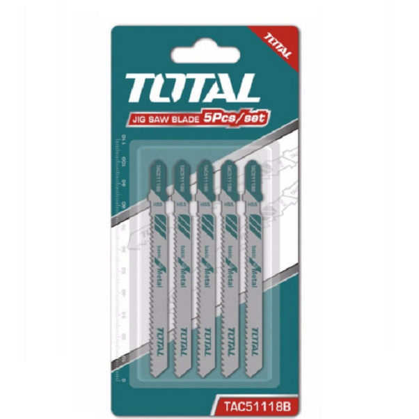 Bộ lưỡi cưa sắt 5 chi tiết (Cưa kim loại) Total - TAC51118B - 1333276 , 5384298094183 , 62_5517347 , 125000 , Bo-luoi-cua-sat-5-chi-tiet-Cua-kim-loai-Total-TAC51118B-62_5517347 , tiki.vn , Bộ lưỡi cưa sắt 5 chi tiết (Cưa kim loại) Total - TAC51118B
