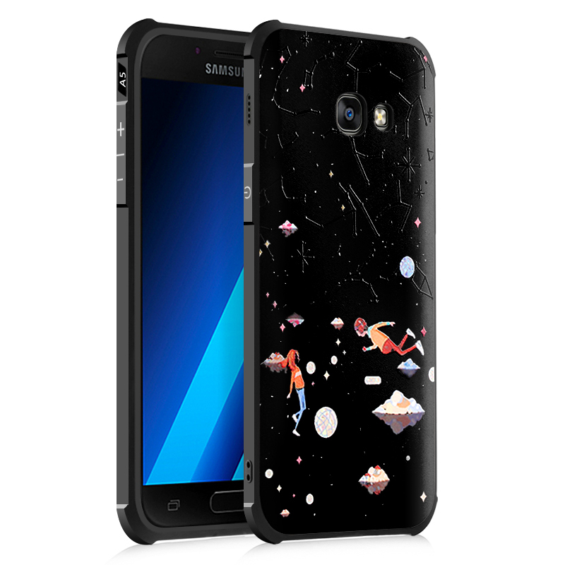 Samsung Galaxy A5 2017 Case 3D Embossed Full Covered Protective Matte Non-slip Soft Cover for Samsung Galaxy A5 2017 - 16609222 , 5895853974128 , 62_26970666 , 195000 , Samsung-Galaxy-A5-2017-Case-3D-Embossed-Full-Covered-Protective-Matte-Non-slip-Soft-Cover-for-Samsung-Galaxy-A5-2017-62_26970666 , tiki.vn , Samsung Galaxy A5 2017 Case 3D Embossed Full Covered Protec