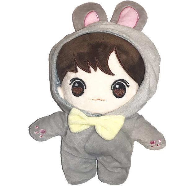 Thú bông Baby Kookie JungKook doll BTS bản mini