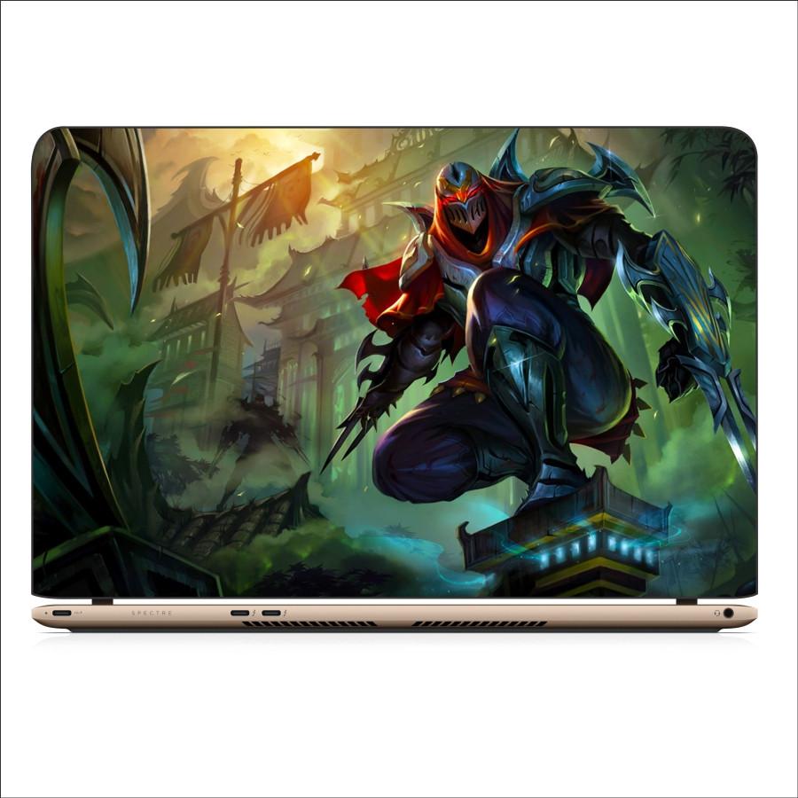 Miếng Dán Skin In Decal Dành Cho Laptop -  Zed LMHT 3