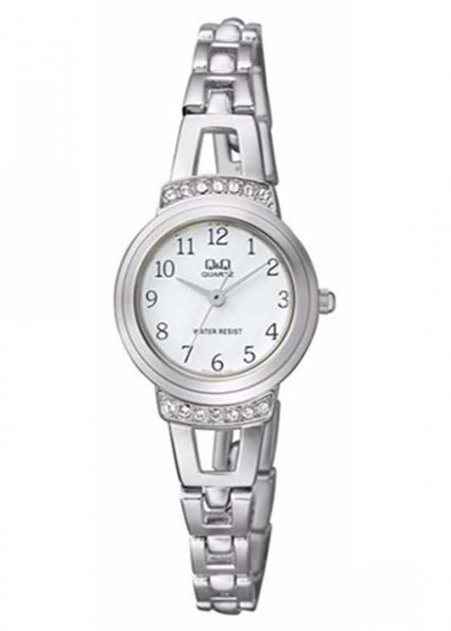 Đồng hồ nữ QQ Citizen  F573J204Y dây sắt