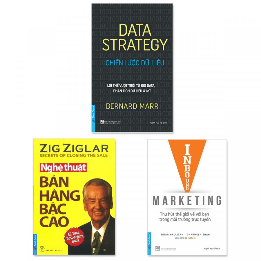 Combo 3 cuốn: Chiến Lược Dữ Liệu, Nghệ Thuật Bán Hàng Bậc Cao, Inbound Marketing