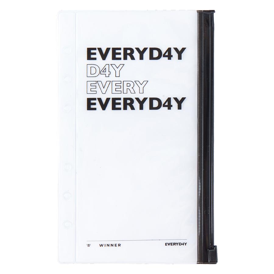 Winner Everyd4Y Zip Pouch + Photo(Option: Single Piece) - Hàng chính hãng