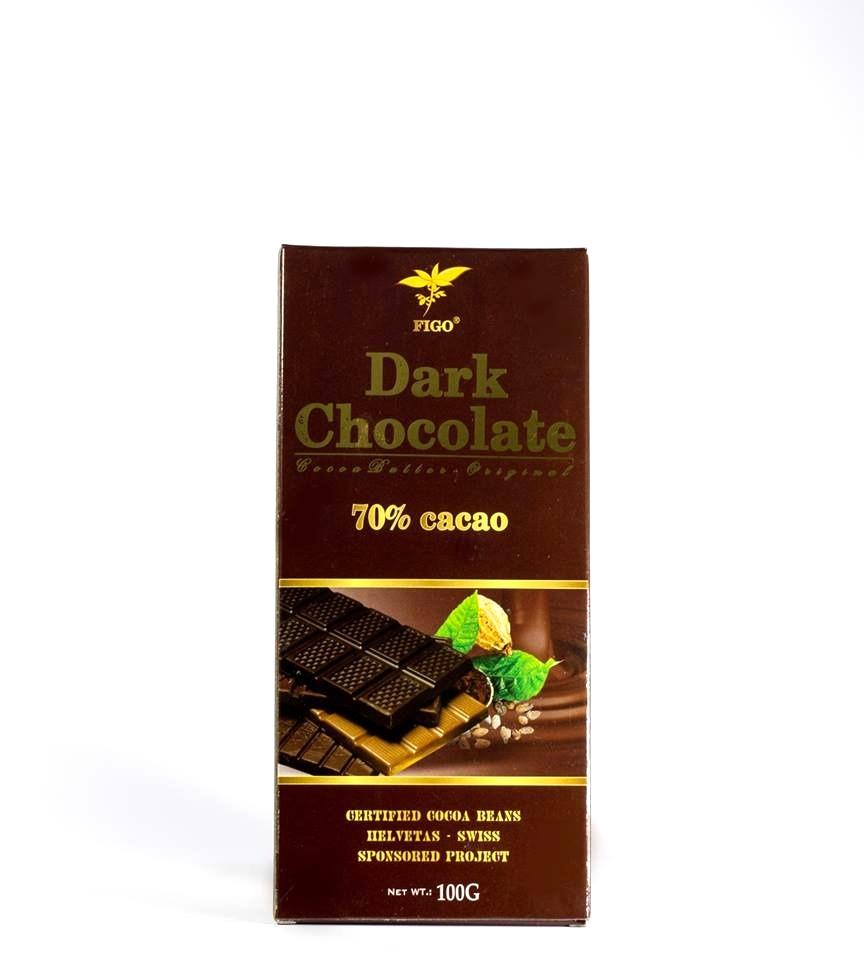 Kẹo Socola đen đắng 70% cacao Figo 100gram - 922238 , 6273506059344 , 62_1911441 , 95000 , Keo-Socola-den-dang-70Phan-Tram-cacao-Figo-100gram-62_1911441 , tiki.vn , Kẹo Socola đen đắng 70% cacao Figo 100gram