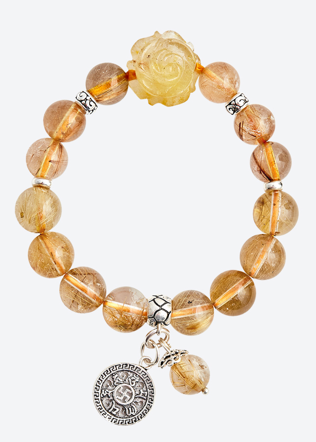 Vòng tay thạch anh tóc vàng charm mẫu đơn Ngọc Quý Gemstones - 1259922 , 9076625771657 , 62_8031490 , 4090000 , Vong-tay-thach-anh-toc-vang-charm-mau-don-Ngoc-Quy-Gemstones-62_8031490 , tiki.vn , Vòng tay thạch anh tóc vàng charm mẫu đơn Ngọc Quý Gemstones