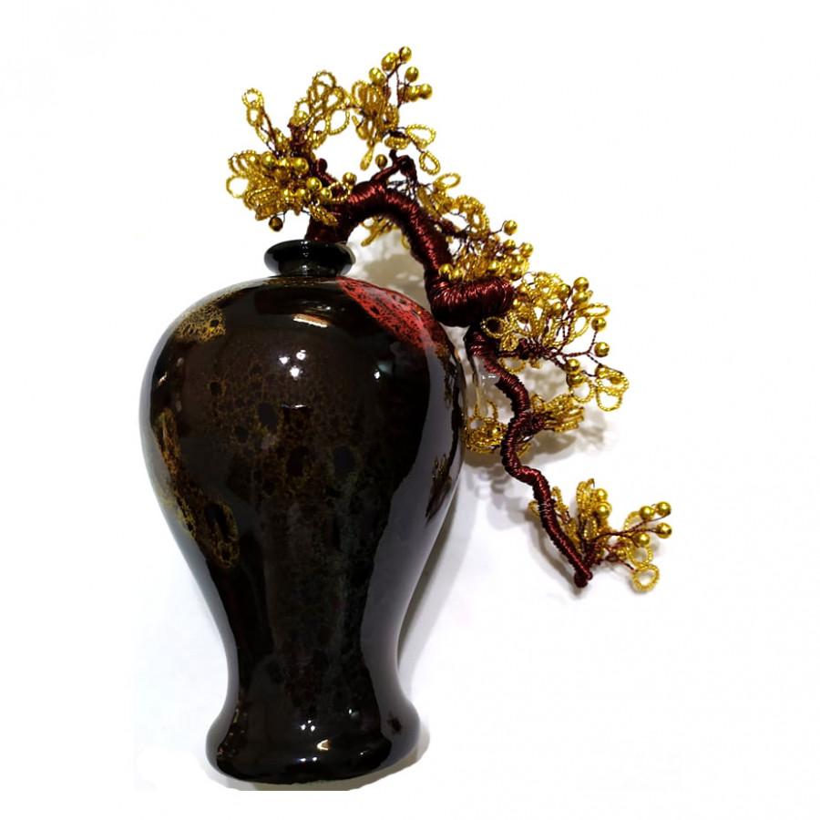 Bình bông gốm sứ nghệ thuật kiểu chân đèn kết hợp hoa đồng Tâm Thành phát - 7381968 , 7894820096328 , 62_15255835 , 400000 , Binh-bong-gom-su-nghe-thuat-kieu-chan-den-ket-hop-hoa-dong-Tam-Thanh-phat-62_15255835 , tiki.vn , Bình bông gốm sứ nghệ thuật kiểu chân đèn kết hợp hoa đồng Tâm Thành phát