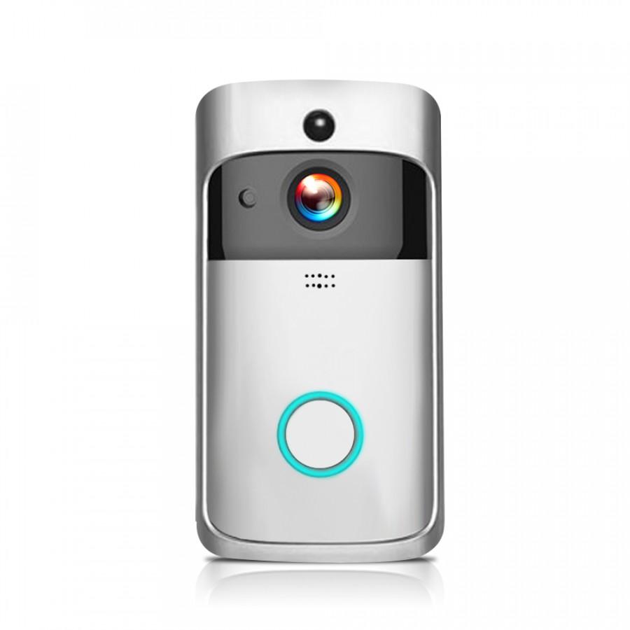 WiFi Smart Wireless Security DoorBell Smart HD 1080P Visual Intercom Recording Video Door Phone Remote Home Monitoring - 2364572 , 8198756081496 , 62_15455796 , 1623000 , WiFi-Smart-Wireless-Security-DoorBell-Smart-HD-1080P-Visual-Intercom-Recording-Video-Door-Phone-Remote-Home-Monitoring-62_15455796 , tiki.vn , WiFi Smart Wireless Security DoorBell Smart HD 1080P Visu
