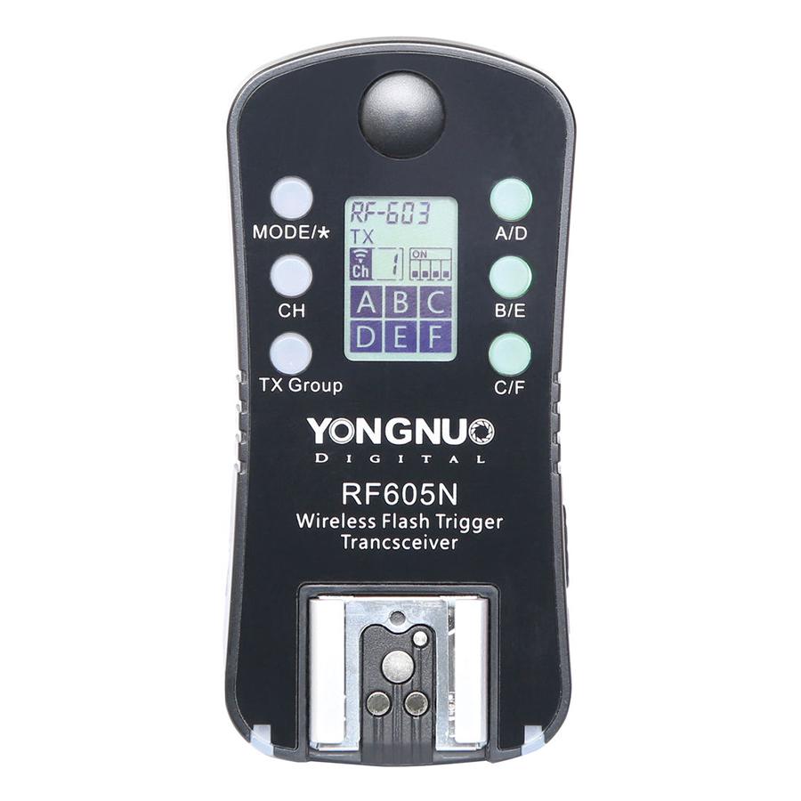 Bộ Kích Đèn Yonguo RF-605 Wireless Flash Trigger Dành Cho Nikon - Hàng Nhập Khẩu