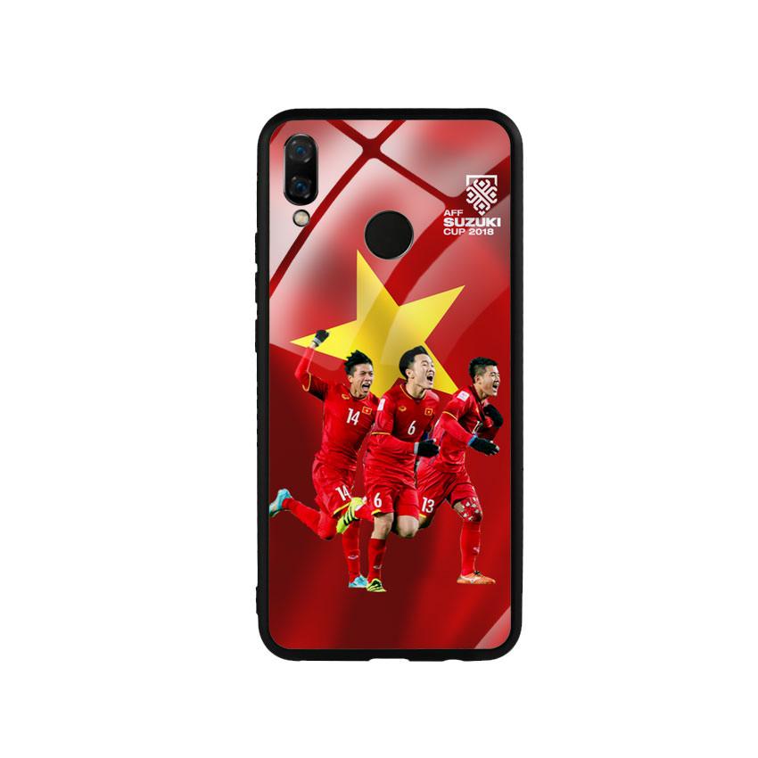 Ốp Lưng Kính Cường Lực cho điện thoại Huawei Nova 3i - AFF Cup 01
