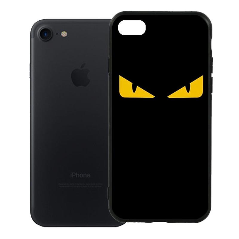 Ốp Lưng Viền TPU Cao Cấp Dành Cho iPhone 7 - Monster 02