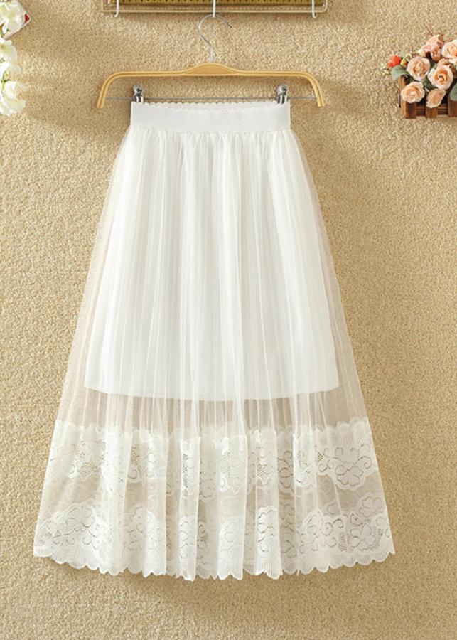 2929569433556 - Chân váy ren trắng Haint Boutique Cv06( trắng)