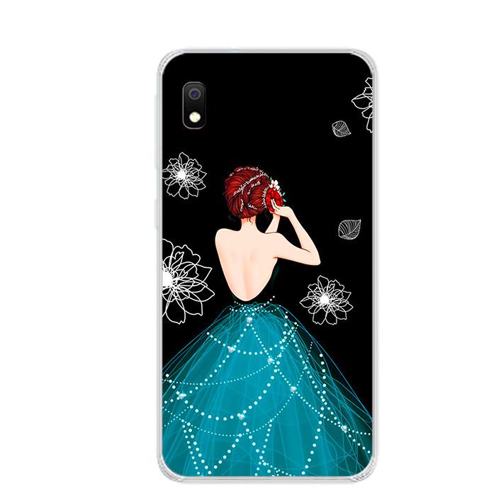 Ốp lưng dẻo cho điện thoại Samsung Galaxy A10 - 0105 GIRL04 - Hàng Chính Hãng