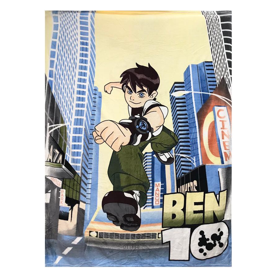Chăn Mền Băng Lông Disney Mẫu Siêu Nhân Ben10 (2 x 1.6m)